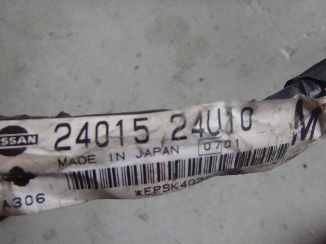 Nissan Skyline R33 Bcnr33 Gtr Tail Wiring Loom Harness 24015 24u10 Labels 1