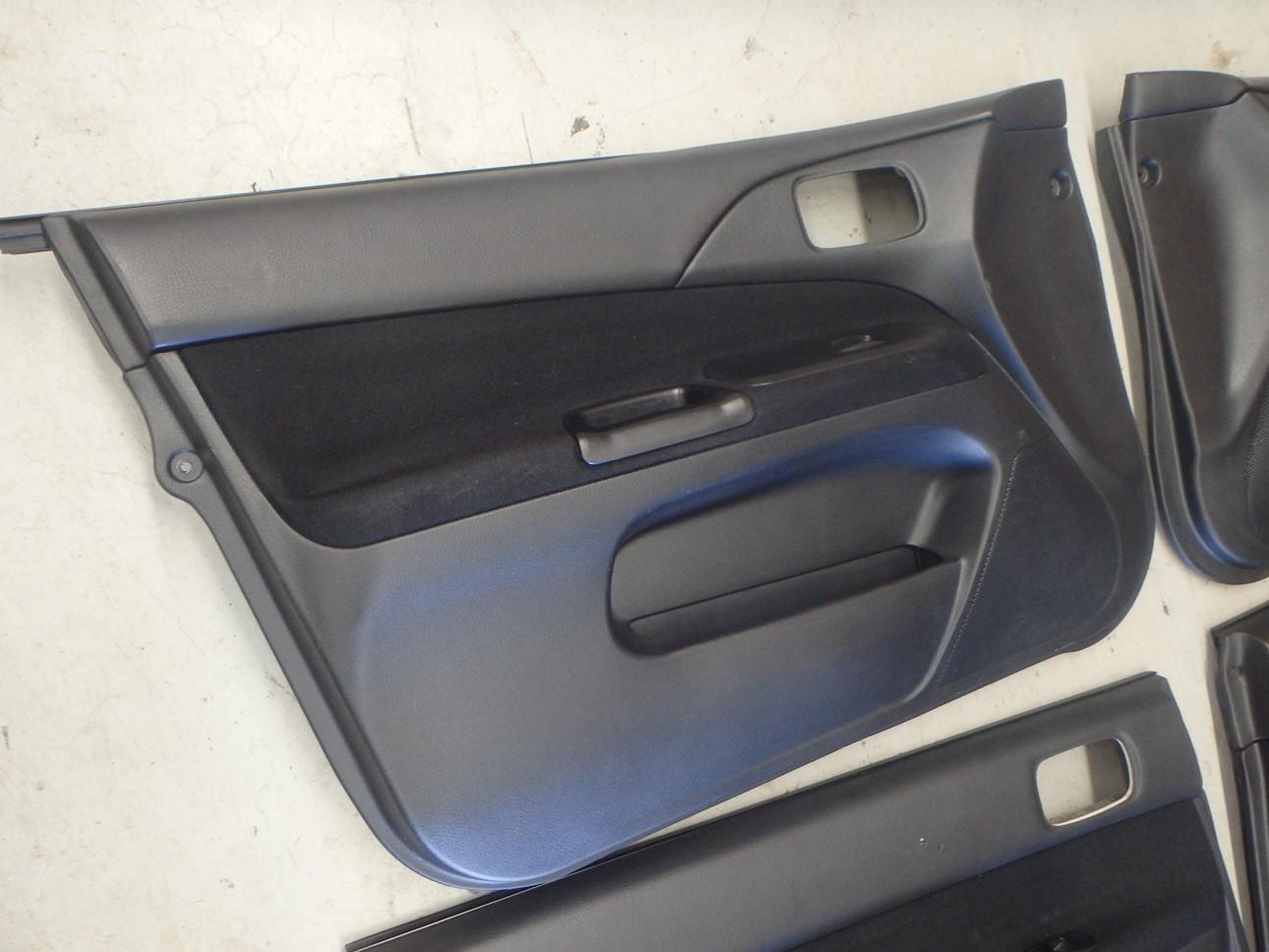Mitsubishi Lancer Evolution 7 Vii Ct9a Evo Interior Door Card Panel Trim Set 4 Ebay
