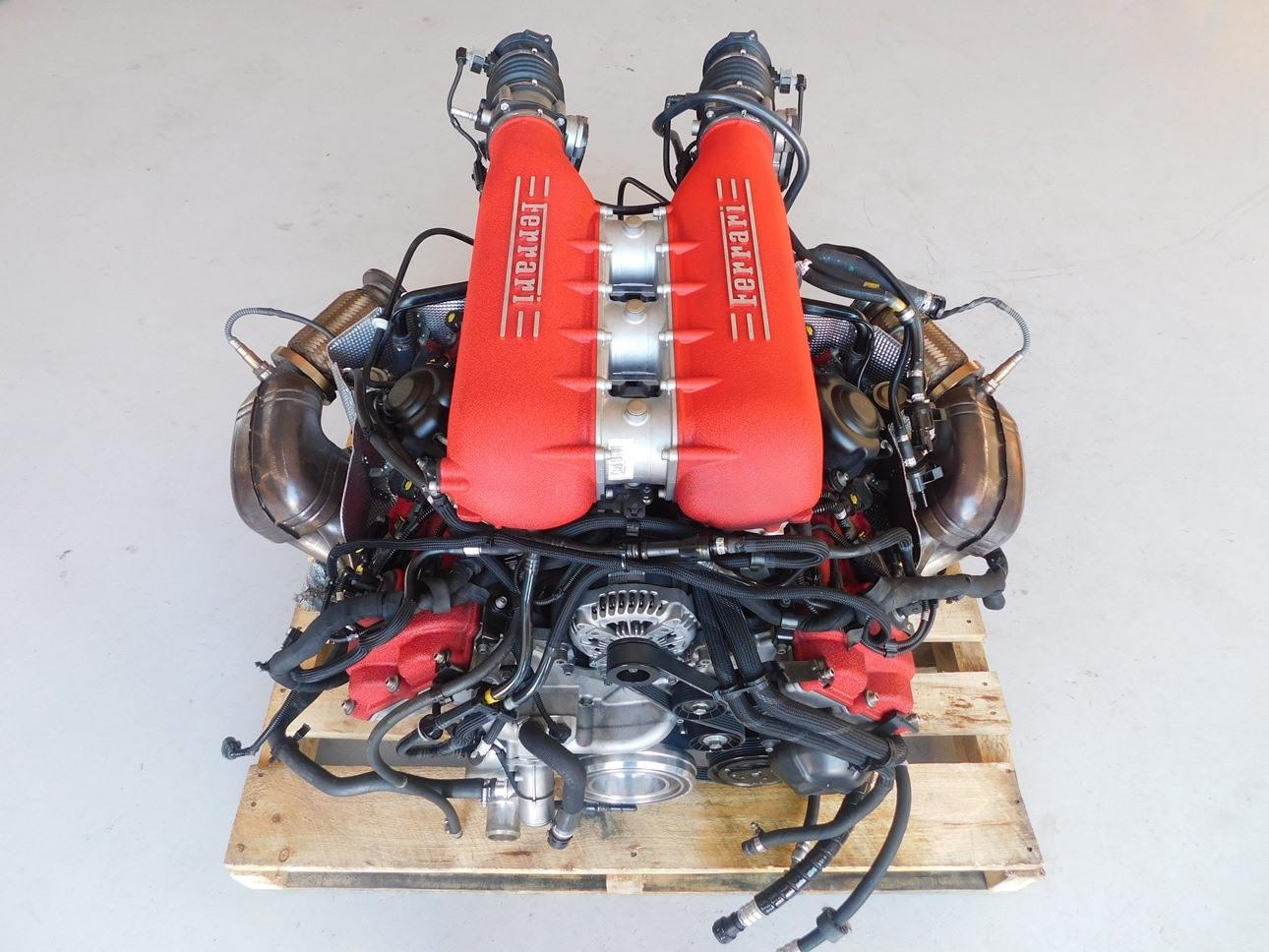 Ferrari 458 Italia Complete Engine Motor F136 V8 4 5l J094 Ebay