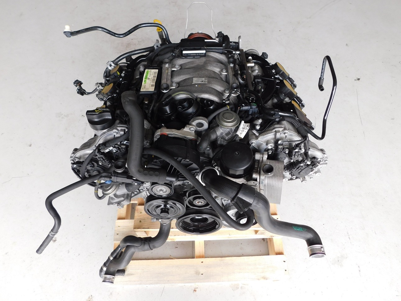 Details about Mercedes Benz SLK 350 R171 2007 M272 V6 3 5L Engine Motor J111